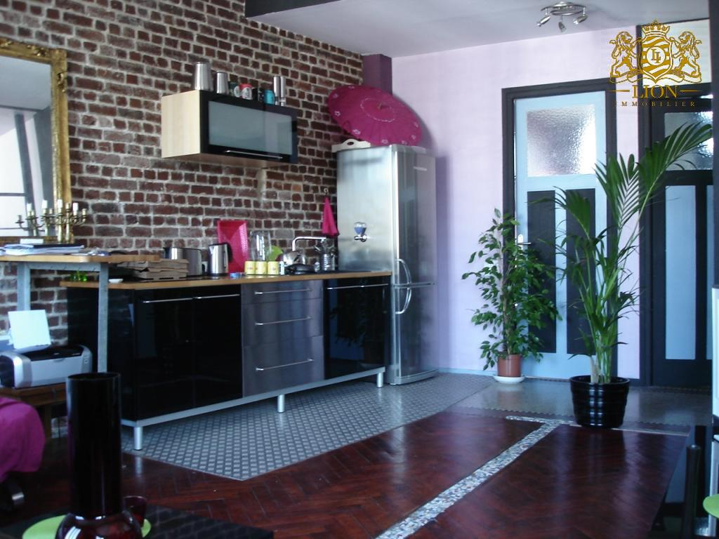 Location appartement - GRAND T1 BIS STYLE LOFT NON MEUBLE - HYPERCENTRE