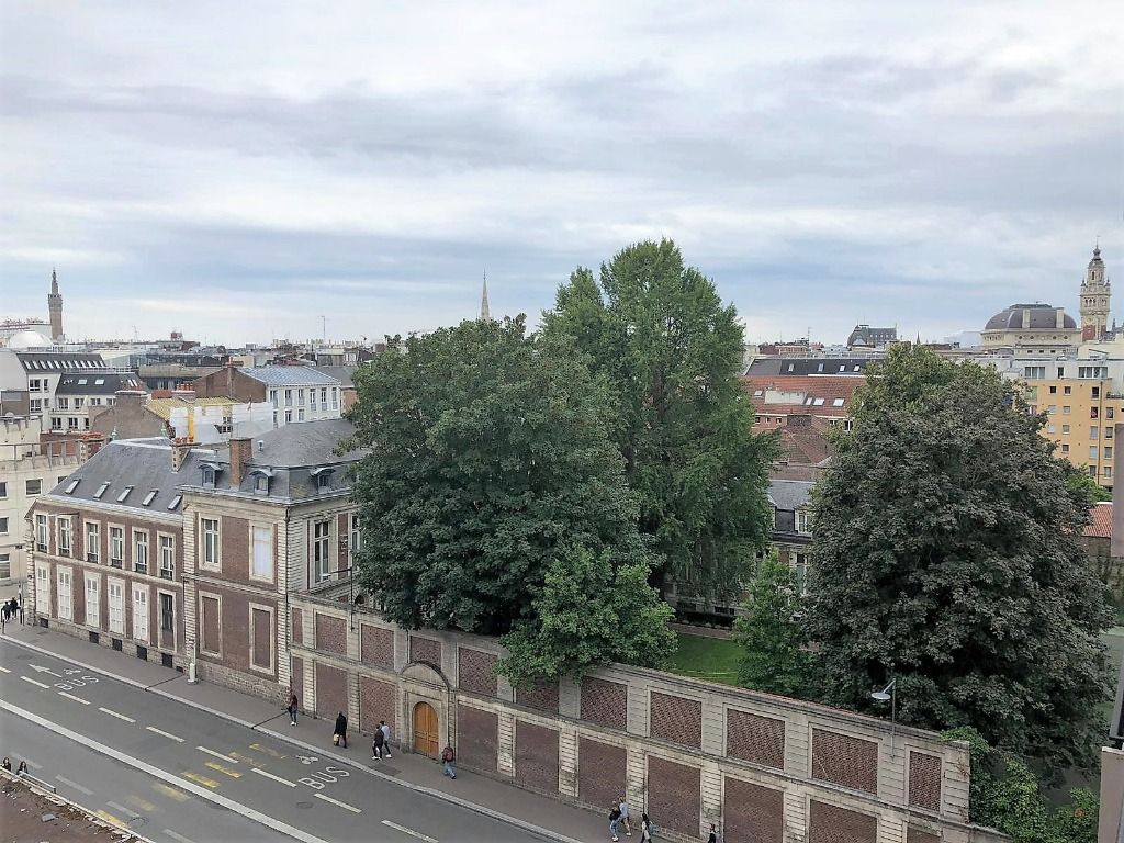Vente appartement - Lille proche grand Place, appartement 3 chambres, balcon.